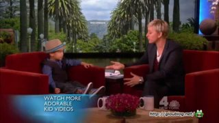 Four-Year-Old YouTube Sensation Sings for Ellen Mar 06 2013