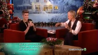 Justin Bieber Interview Dec 14 2012