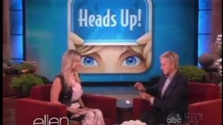 Kaley Cuoco Interview And Game May 14 2013