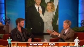 Liam Hemsworth Interview Mar 23 2012