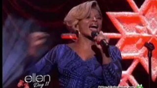 Mary J. Blige Performance Dec 19 2013