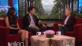 Rob Kardashian and Cheryl Burke Interview and Dance Oct 24 2011