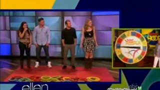 Scott Caan And DJ Pauly D Play Twister Hoopla May 01 2012