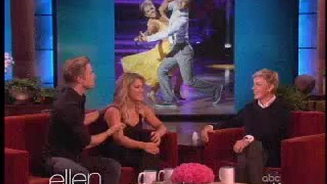 Shawn Johnson and Derek Hough Interview Oct 05 2012