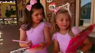 Sophia Grace And Rosie Check Out Cars Land May 22 2012