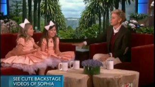 Sophia Grace And Rosie Interview Nov 08 2013