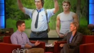 Zac Efron Interview Oct 04 2012