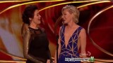 Ellen & Portia At The Peoples Choice Awards Jan 07 2015