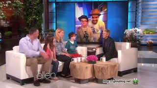 Ellen Meets Robbie Twible Feb 23 2015
