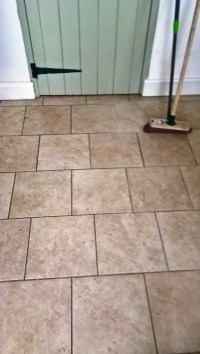 Restoring the Appearance of Kitchen Tile and Grout in ...