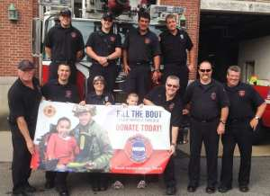 "Gloucester Firefighters to Participate in ""Fill the Boot"" Campaign for the Muscular Dystrophy Association"