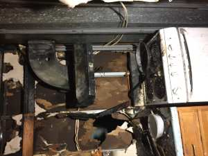 Photos: Gloucester Fire Department Extinguishes Kitchen Fire