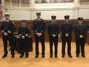 Photos: Gloucester Police and Fire Departments Recognize New and Promoted Members