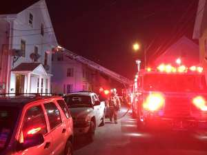 Gloucester Firefighters Battle House Fire on Granite Street