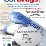 Gloucester Police to Host National Drug Take Back Day Event