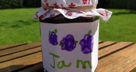 homemade blackberry jam recipe