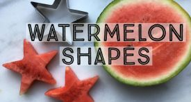 watermelon shapes, cookie cutter watermelon, watermelon stars, watermelon party food
