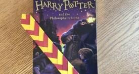 harry potter bookmark craft, harry potter crafts