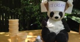 ice cream seller hat, make ice cream seller hat, make ice cream costume