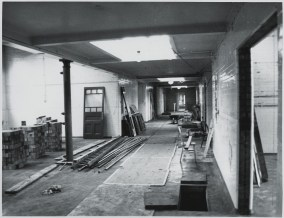 GPS 154-237 PUBLIC CORRIDOR AND OUTER SEARCH ROOM SPRING 1978