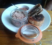 The Cock Inn - duck liver pate