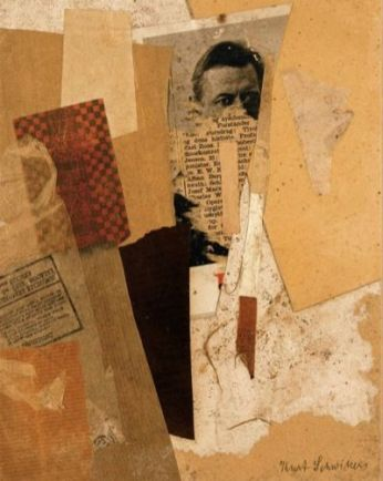 Kurt and Ernst Schwitters Stiftung, Sprengel Museum, Hannover Untitled (With an Early Portrait of Kurt Schwitters), 1937-8