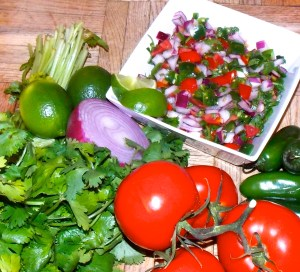 Pico de Gallo tastes as bright and fresh as it looks.