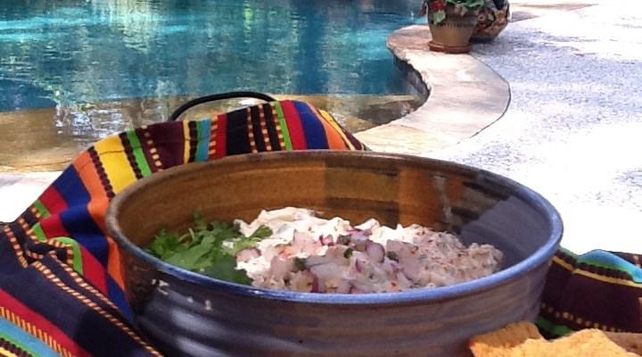 Fiesta Grilled Shrimp Dip