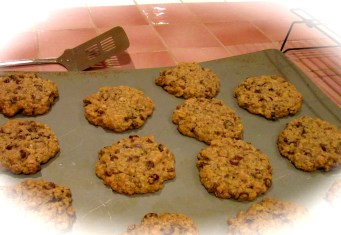 Jumbo Comfort Cookies are a family favorite