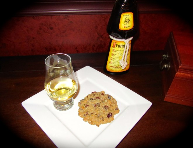 Have a Comfort Cookie with a nightcap of Frangelico