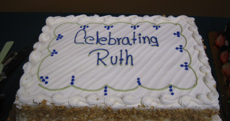 Celebrating Ruth's 95 Years