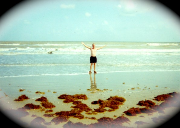 On the Bolivar Peninsula in the late 90s