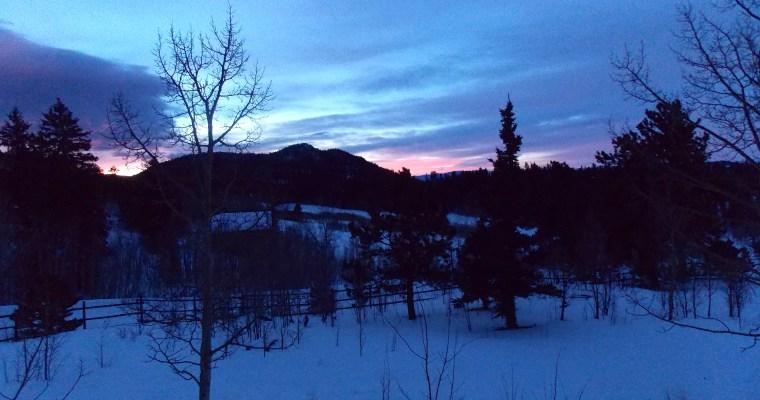 Haiku:  Beckoning Winter Sky
