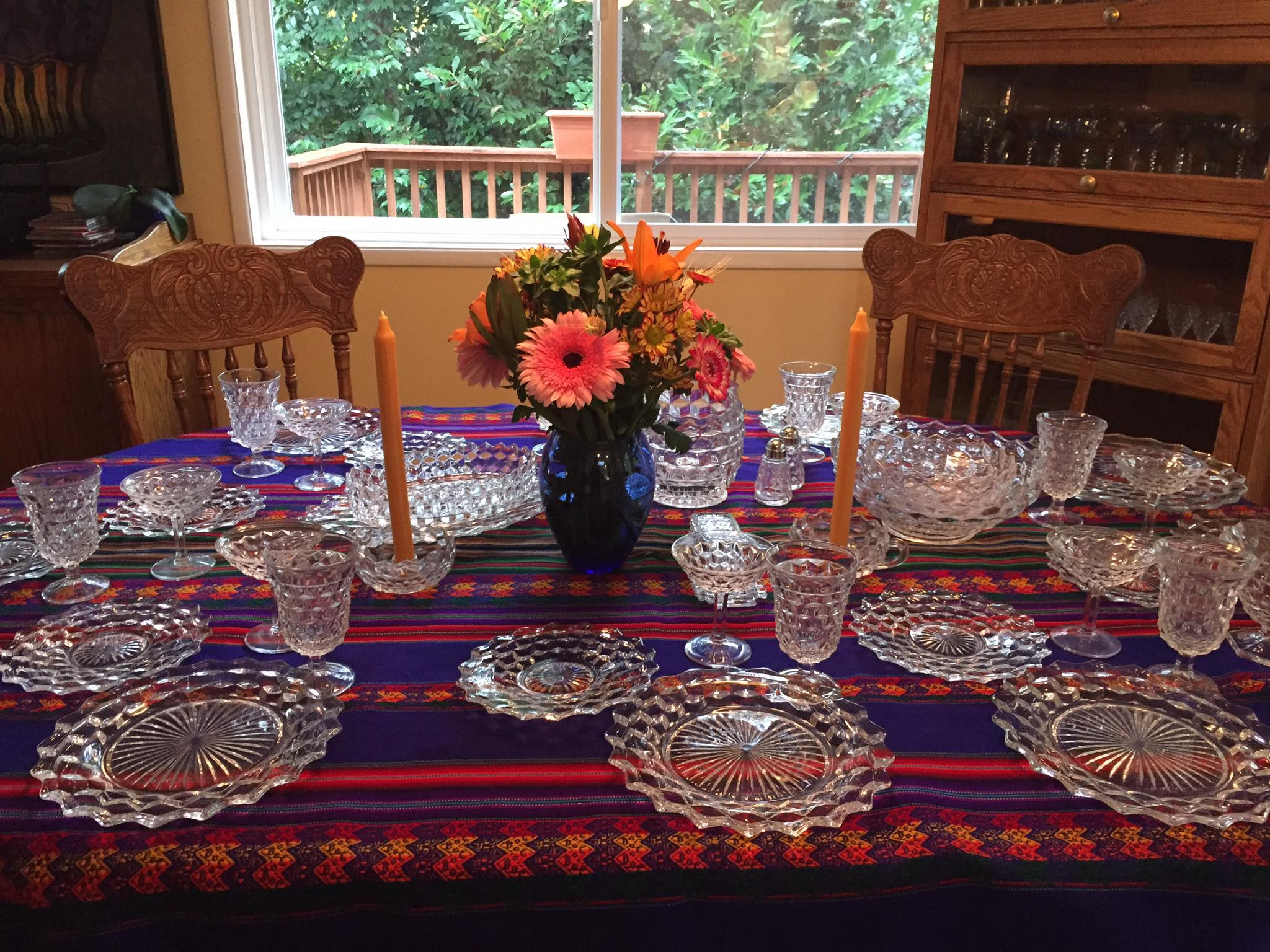 A Gorgeous Thanksgiving Table; A Family Legacy from Strong Woman to Strong Woman
