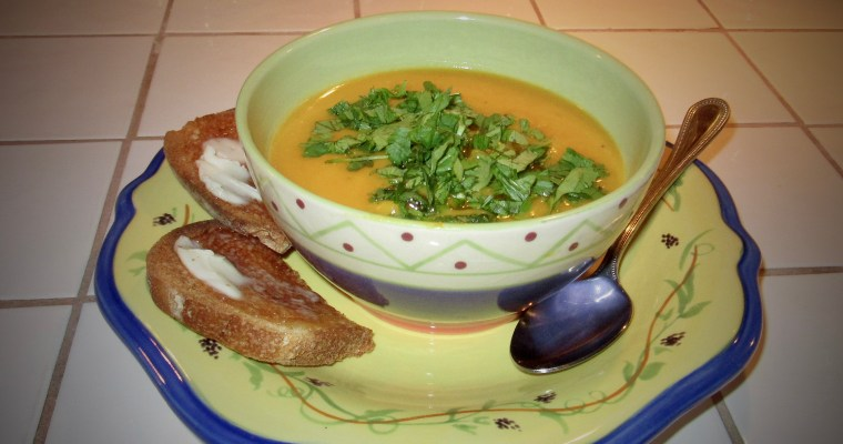 Creamy Butternut Squash Soup with a Hint of Cumin