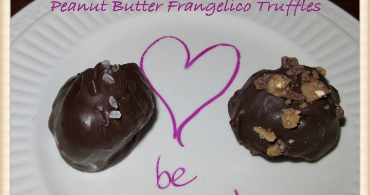 Peanut Butter Frangelico Truffles