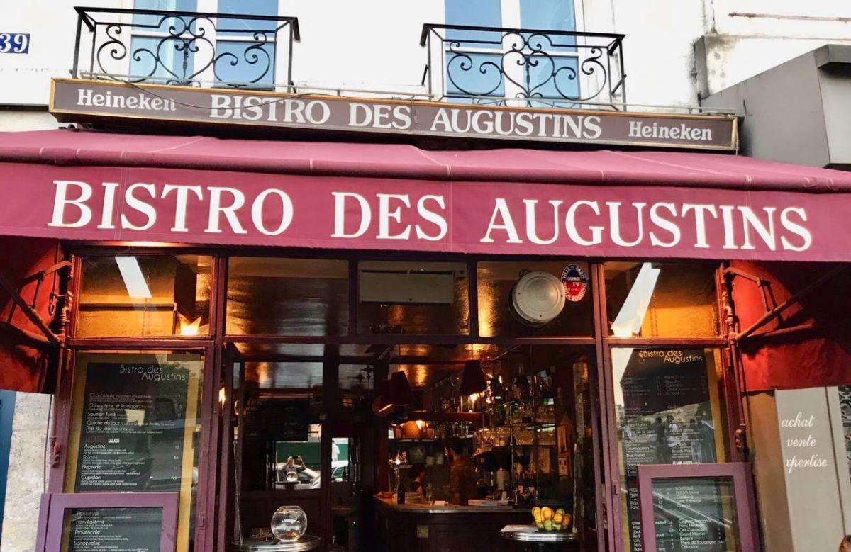 Bistro Des Augustins - Sign