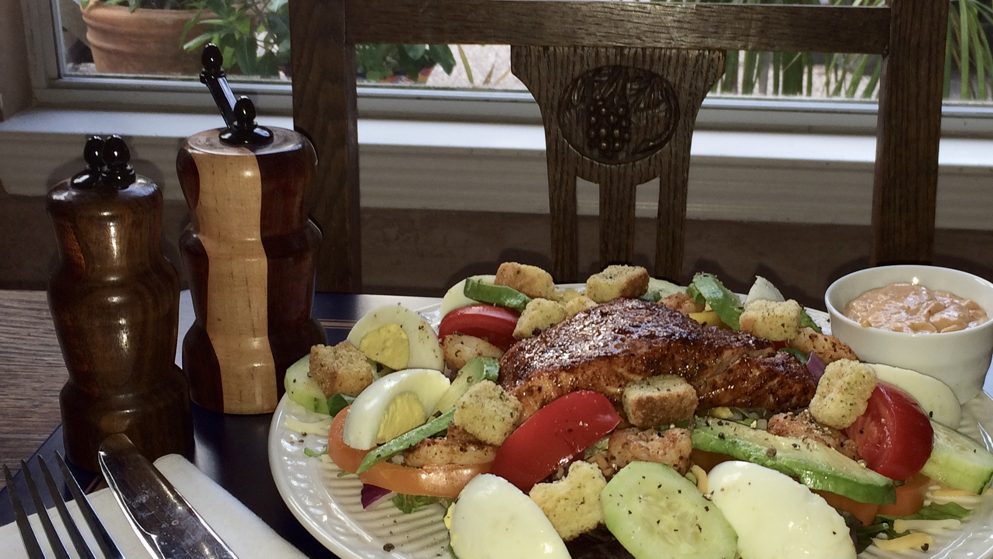 Cool Off in the Hot Summer with Salmon Louie Salad