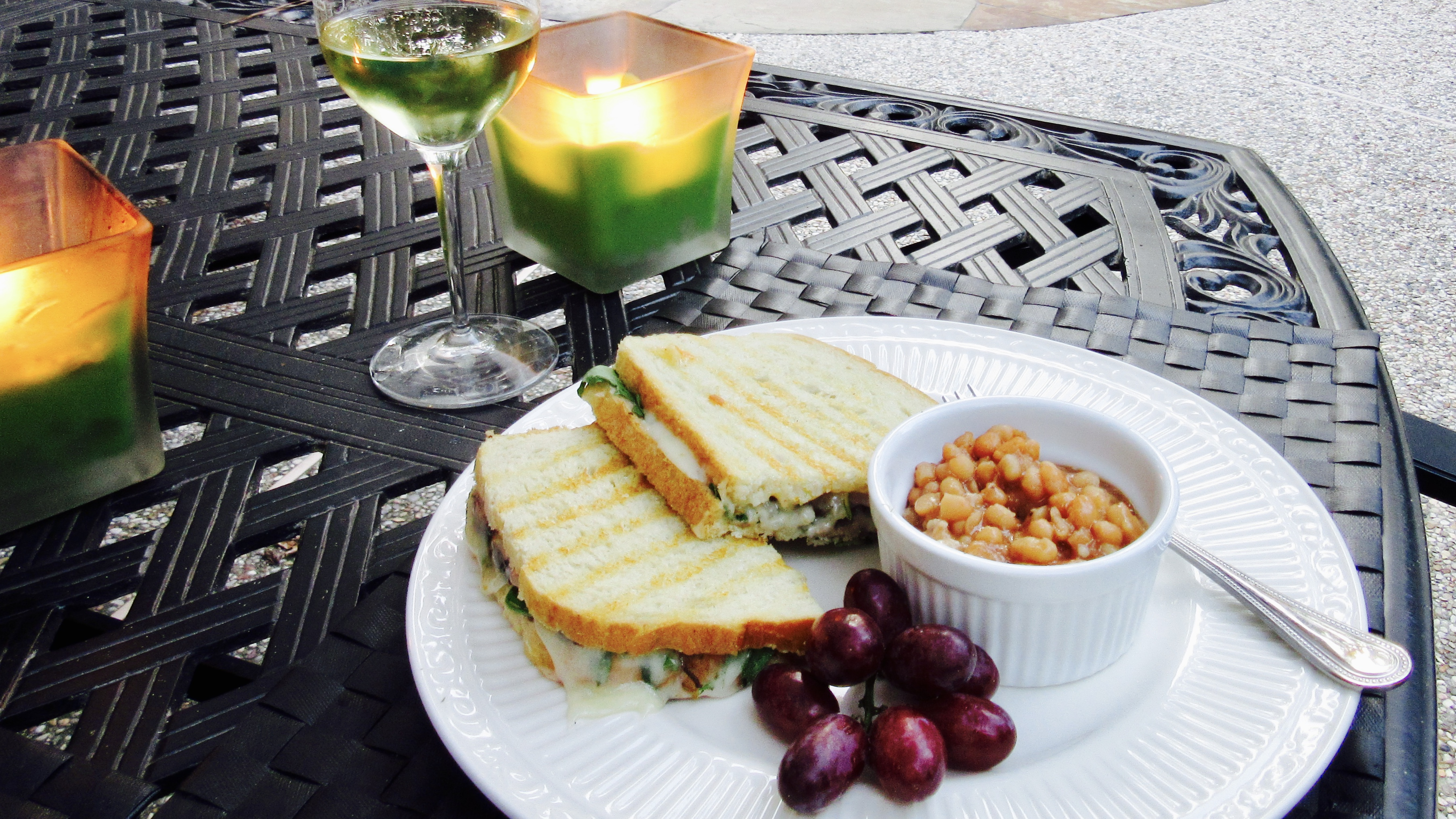 Sandwich Wednesday: Steak and Fontina Panini