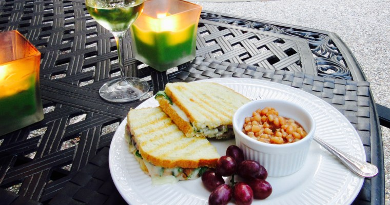 Sandwich Wednesday: Steak and Fontina Panini