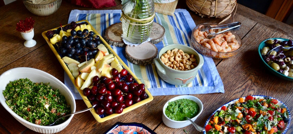Revisiting a Recipe for Fall Parties: Tuscany-Texas Goat Cheese Spread