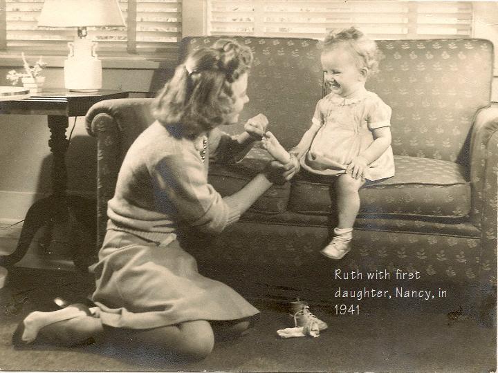 Ruth and Nancy 1941