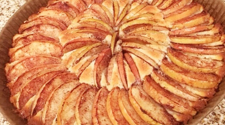 "Found Recipe: Swedish Apple Cake, or ""Äppelkaka"""