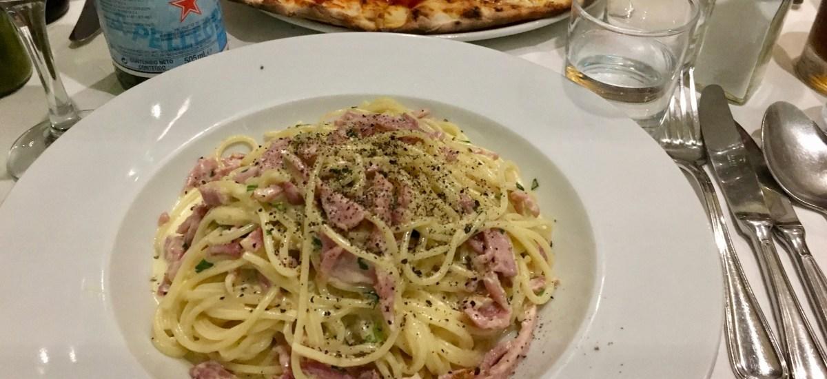 Comfort Food Alert: My Beloved Da Corradi in London has the BEST Spaghetti Carbonara