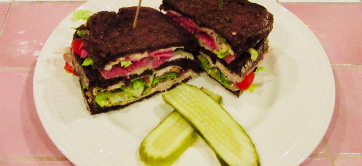 Sandwich Wednesday, Bavarian Bistro Series #1 – Der Red Baron