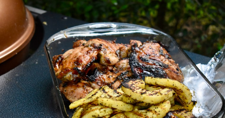 Citrus and Tequila-Glazed Chicken Thighs