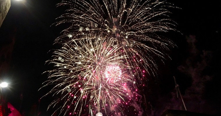 Haiku: Unexpected Fireworks in Edinburgh and Memories