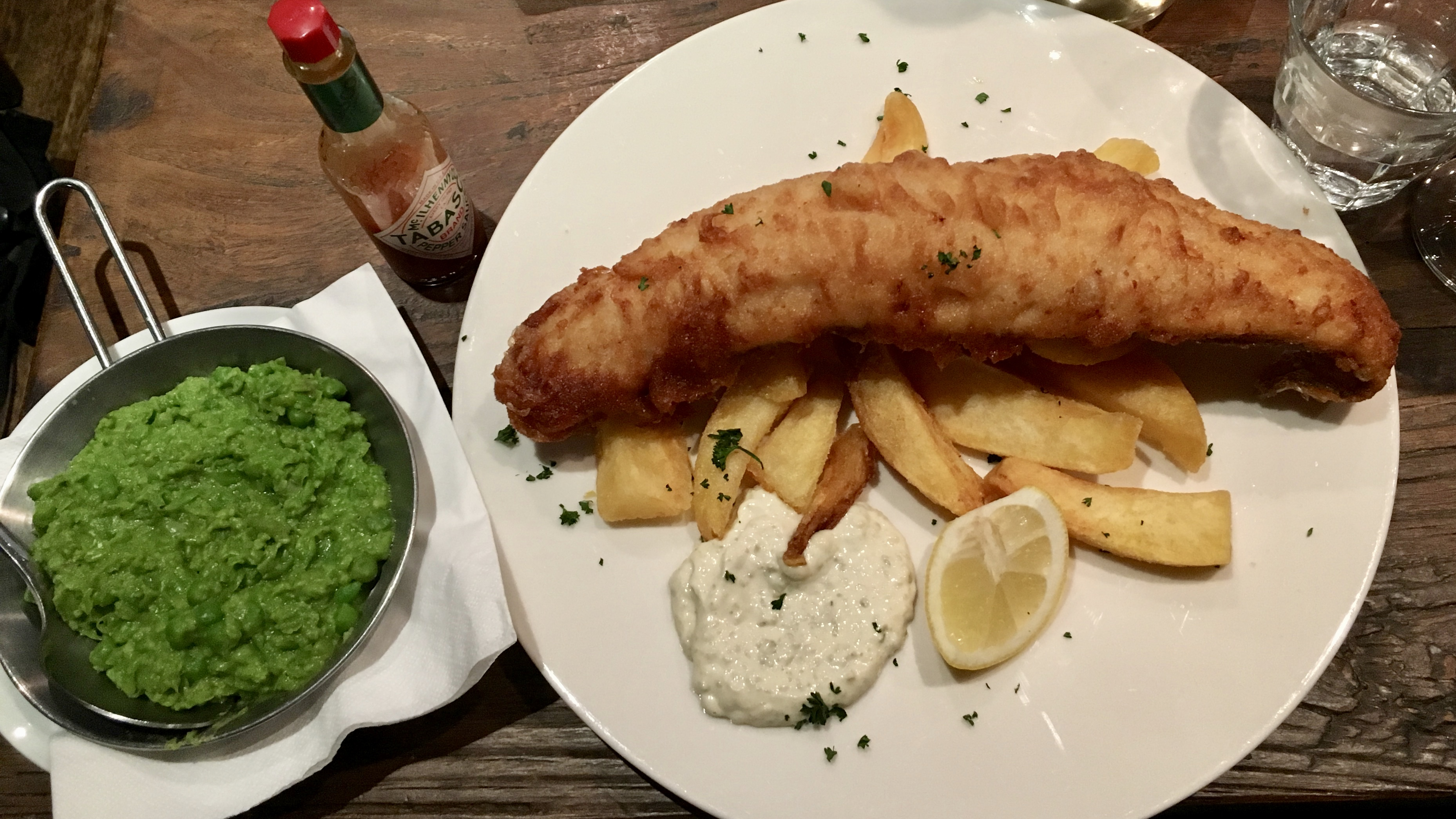 A London Fish and Chips Story: Sometimes, You Can't Go Back, But You Can Go Forward