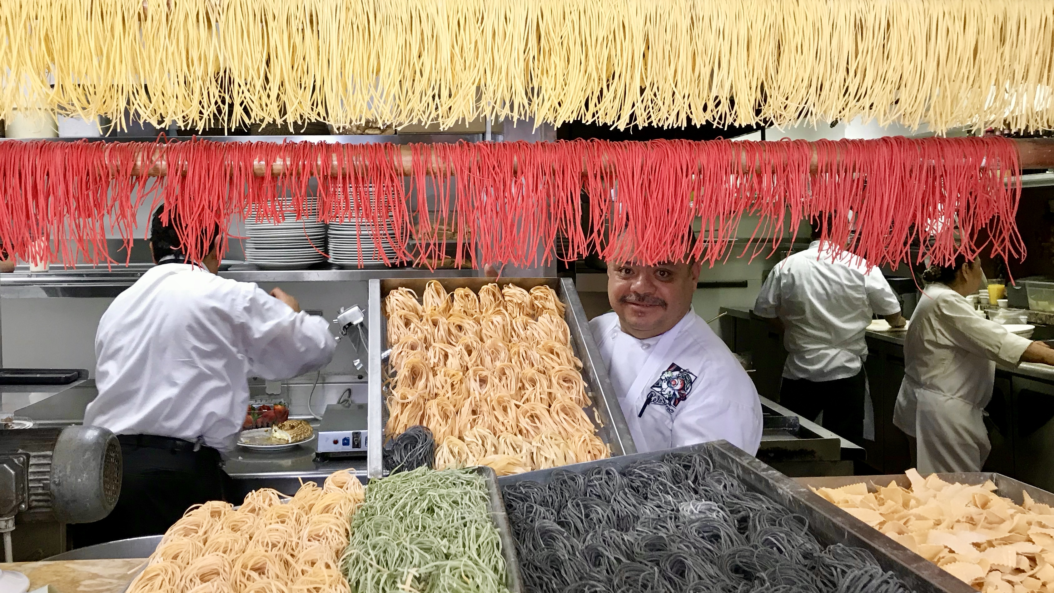 Proud of the Pasta at Celestino in Pasadena