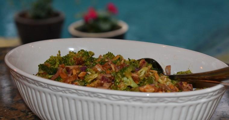 Score! Creamy, Crunchy, Spicy, Sweet Bacon-Broccoli Salad Snares a Broccoli-Hater